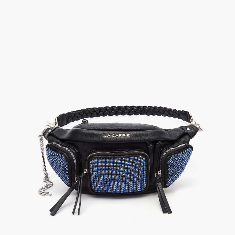 BUM BAG/BELT BAG ASTRODOME BLACK/AZURE