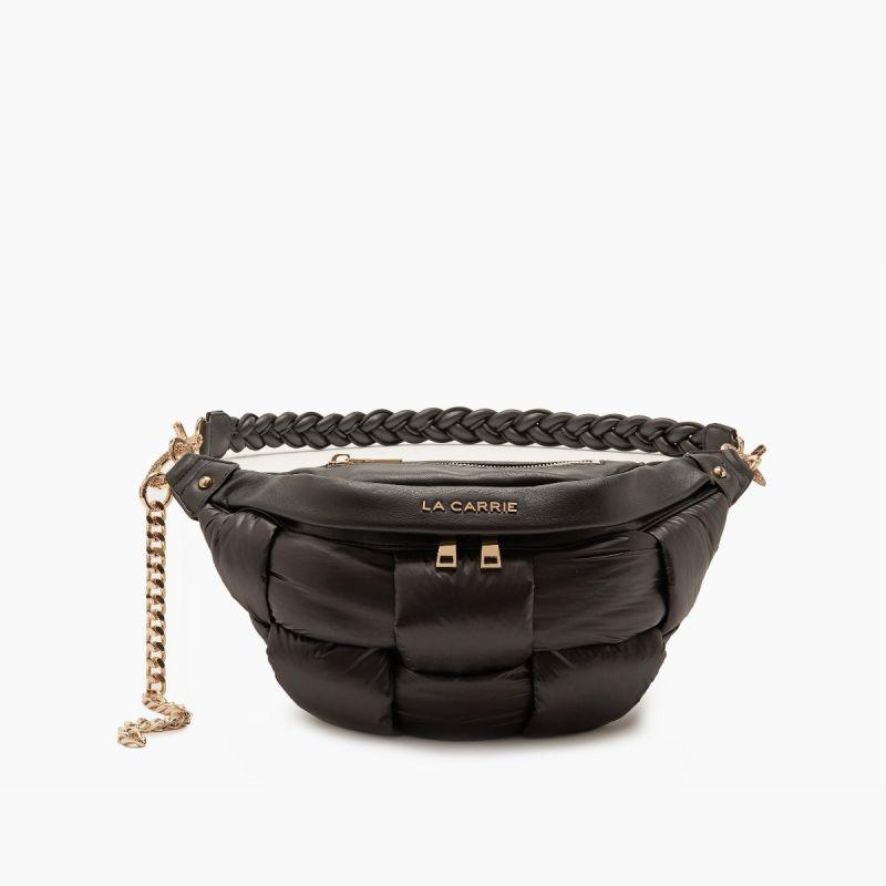 Bum bag/belt bag padded black