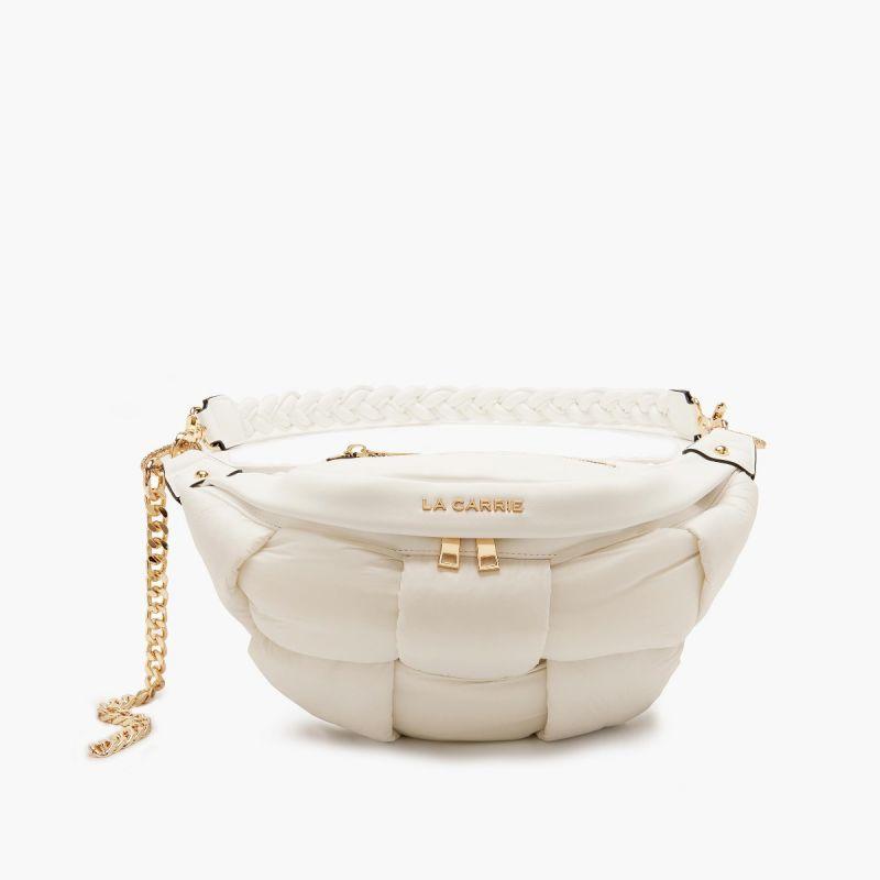 Bum bag/belt bag padded ivory