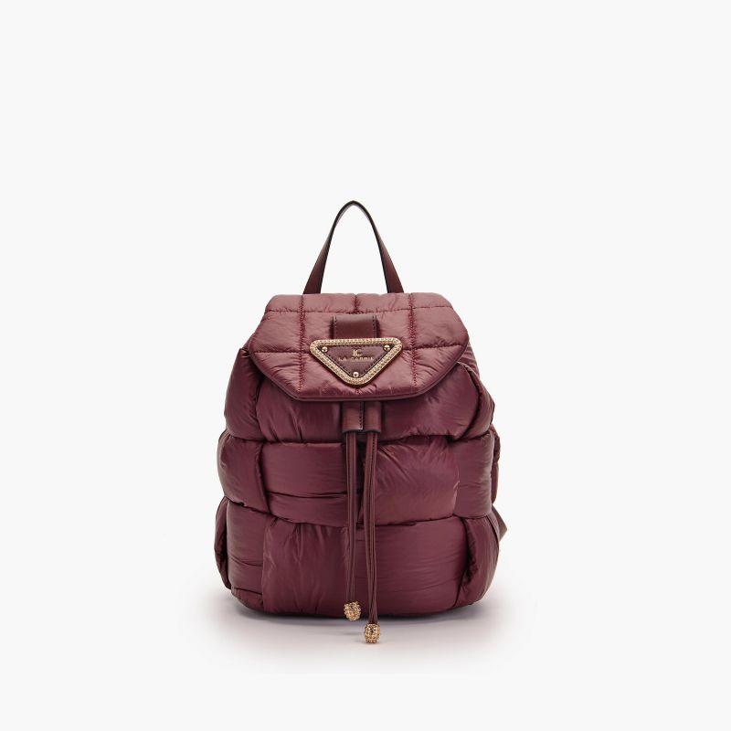 Backpack padded burgundy
