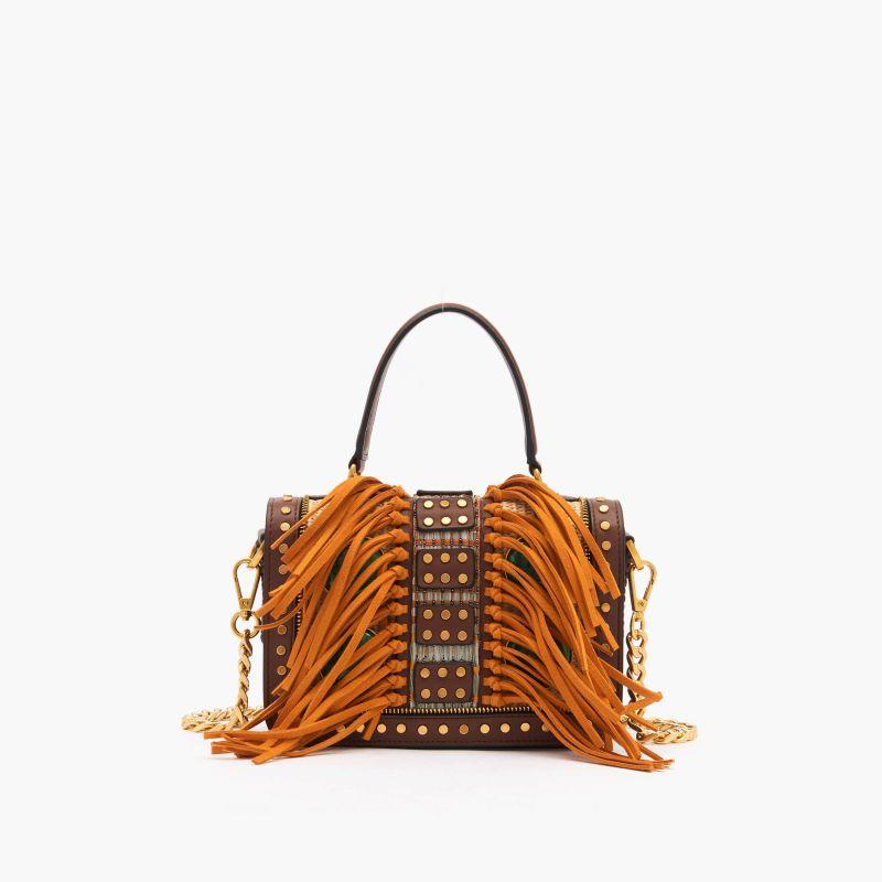 Borsa shopping Jungle Combi-marrone