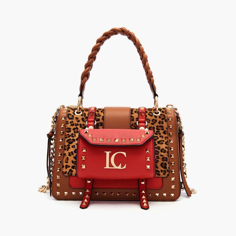 Borsa shopping Michelle Combi cuoio