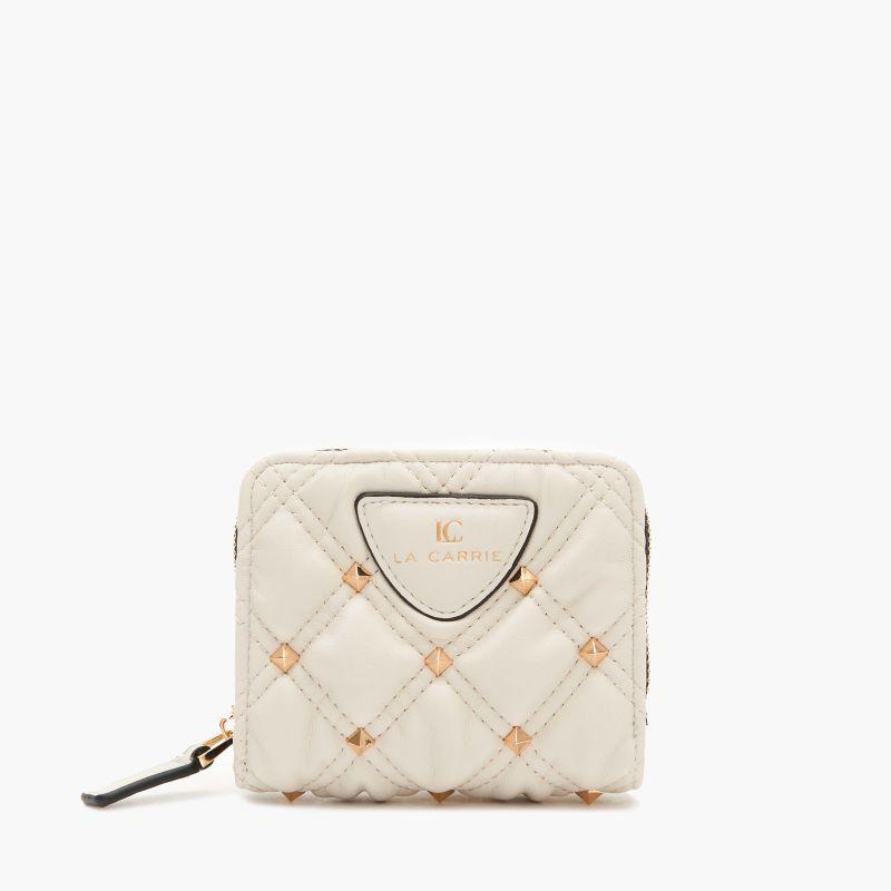 Portafoglio Tinette small wallet pu Avorio