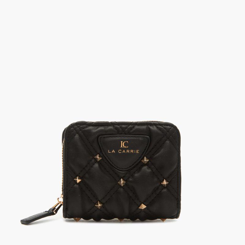 Portafoglio Tinette small wallet pu Nero