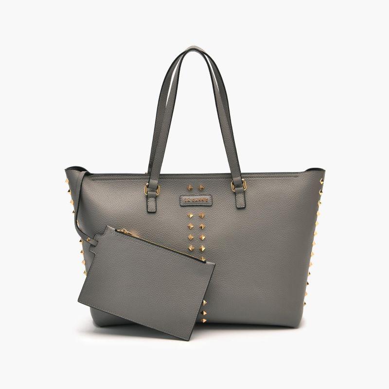 Shopper stud grey