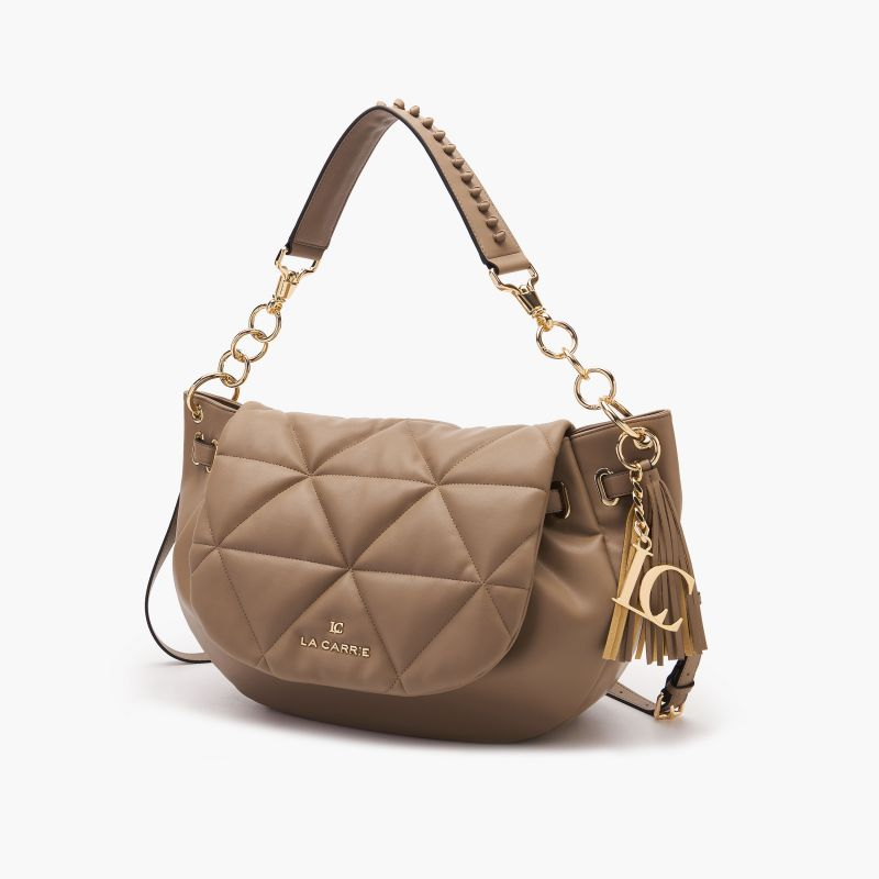 Shopper touchy taupe