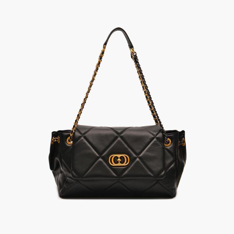 Shoulder bag touchy black
