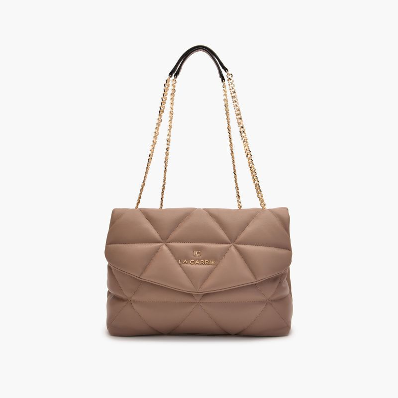 Shoulder bag touchy taupe