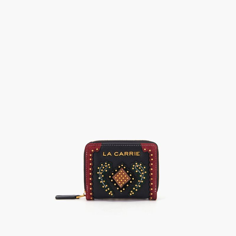 Wallet arabesque multi black