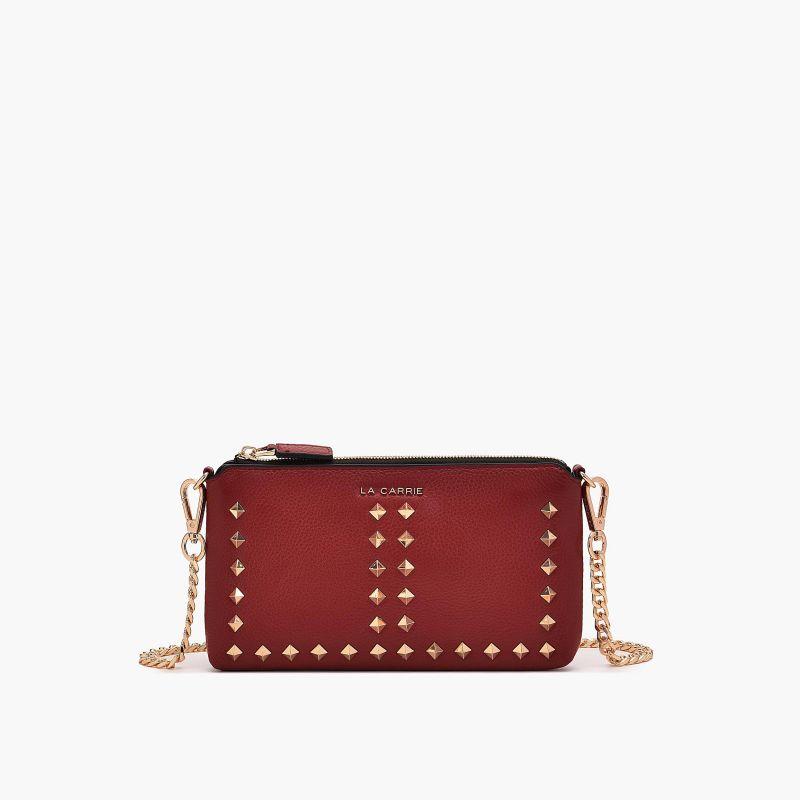 Wallet stud dark red